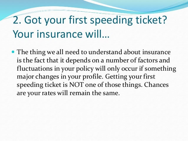 Top 10 misunderstood things about car insurance