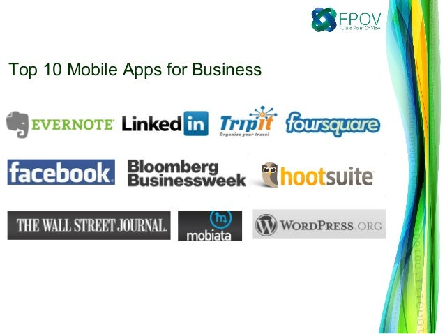 Top 10 Mobile Apps for Business