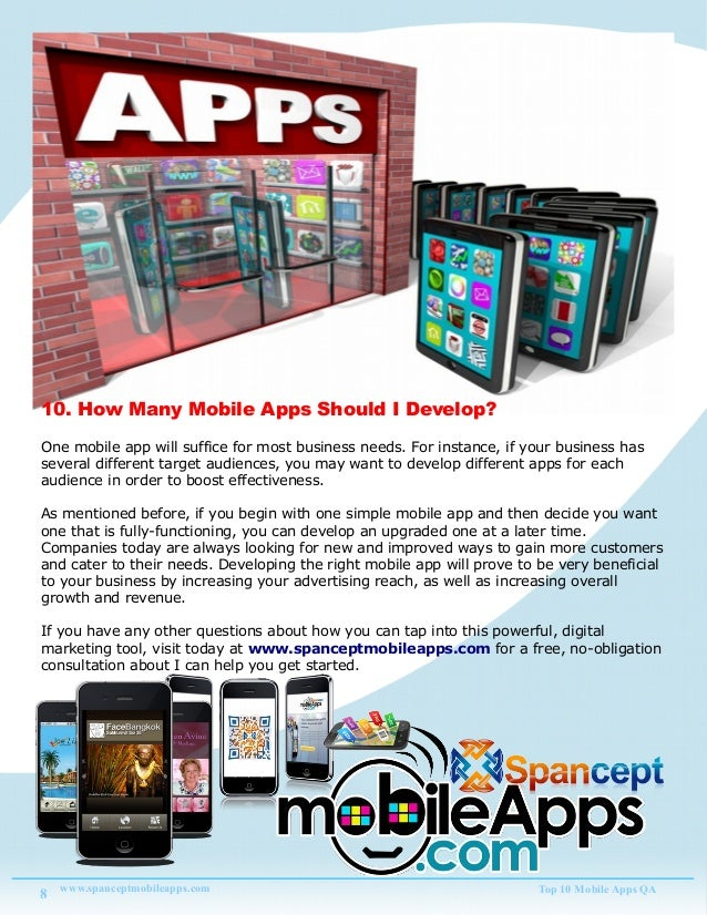 Top 10 Mobile App Question and Answer