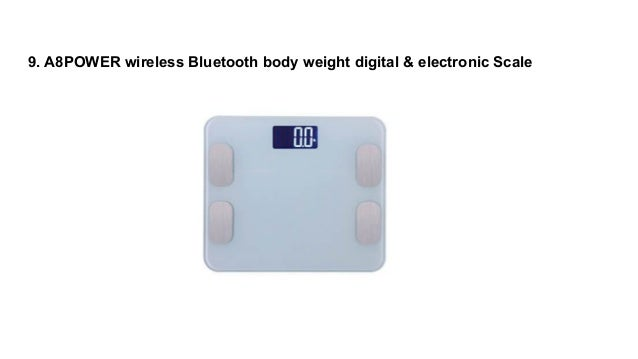 Top 10 Most Accurate Bathroom Scales Reviews