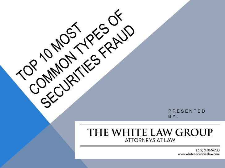 the definition and types of investment fraud Find information on common scams and frauds that can happen to you the ftc will not research your individual case of investment fraud a ponzi scheme is a type of investment fraud that relies on money from new investors to pay returns to current investors.