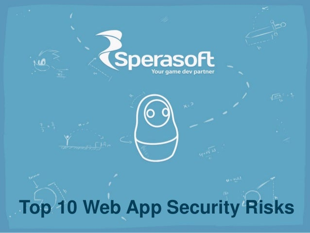 Top 10 Web App Security Risks