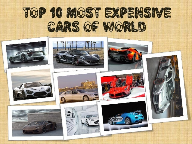 Top 10 Most Expensive Cars of World