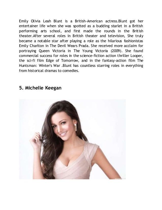 Top 10 hottest british actresses
