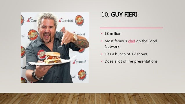 Highest Paid Chef On Food Network