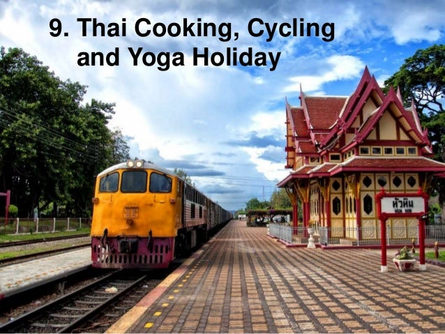 9. Thai Cooking, Cycling and Yoga Holiday