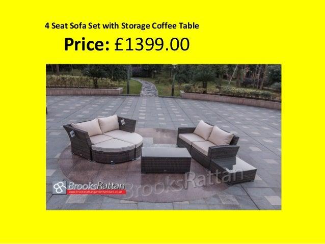 4 seat sofa set with storage coffee table price 139900