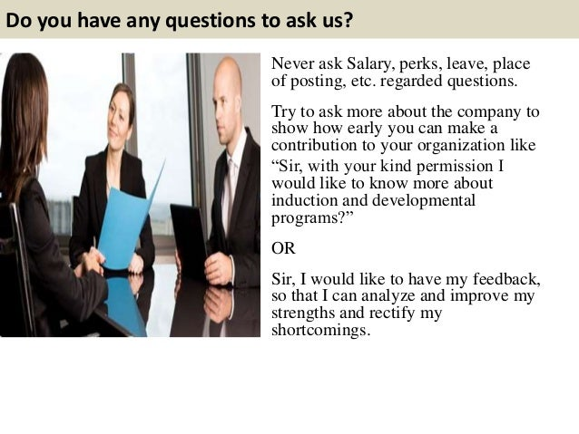 questions to ask in an interview for a job