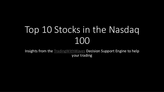 Top 10 Stocks in the Nasdaq 100 Insights from the TradingWithWaves Decision Support Engine to help your trading