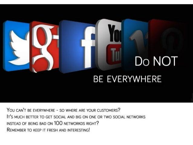 Top 10 not to do on social media Slide 2
