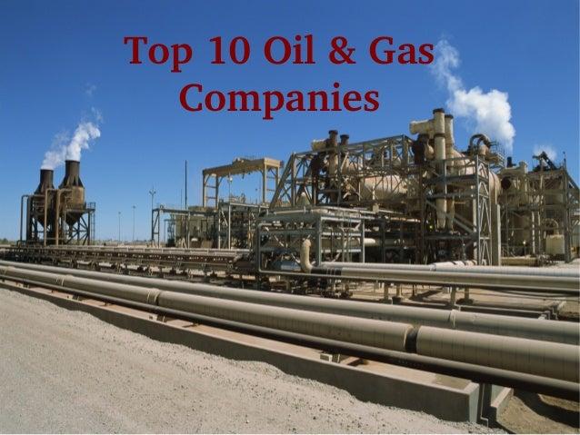 Top10Oil&Gas Companies