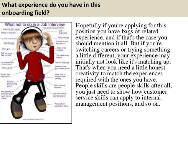 3 - Onboarding Specialist Job Description