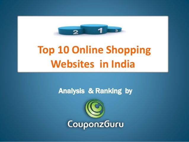 Top 10 Online Shopping Websites in India Analysis & Ranking by