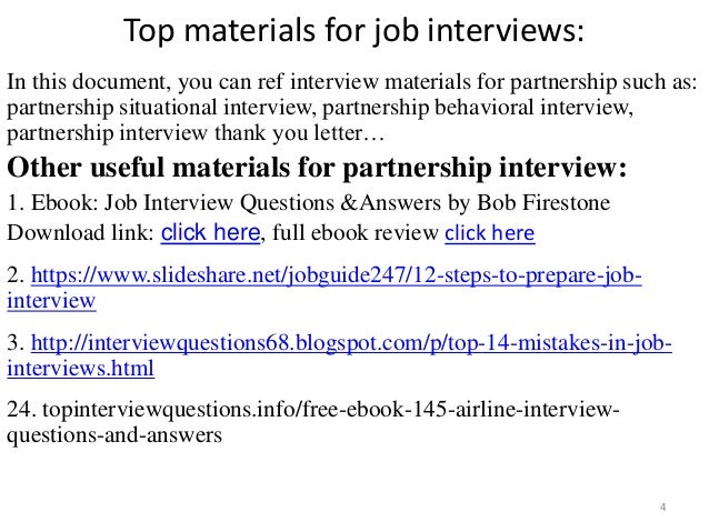 Top 36 partnership interview questions with answers top materials fandeluxe Images