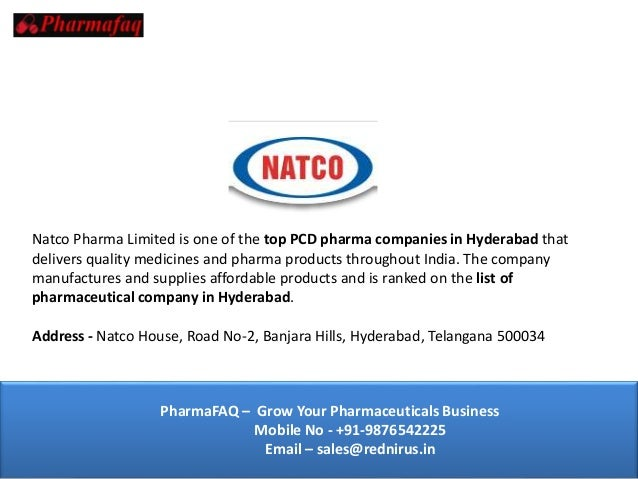 Top 10 PCD Pharma Companies in Hyderabad 2019 [Updated]