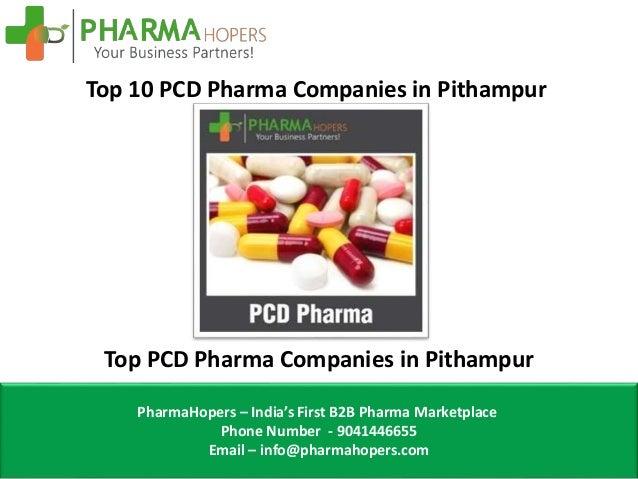 Top 10 PCD Pharma Companies in Pithampur
