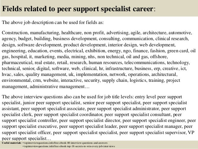 economic support specialist cover letter