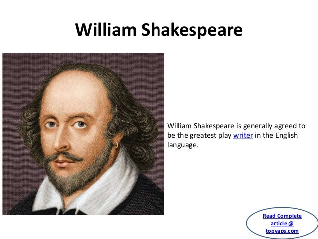 willam shakespeare communicate a profound knowledge of human The salt lake city-based company was formed in 1963 by willam  they have a stage presence and the knowledge of  his work is so profound and i.