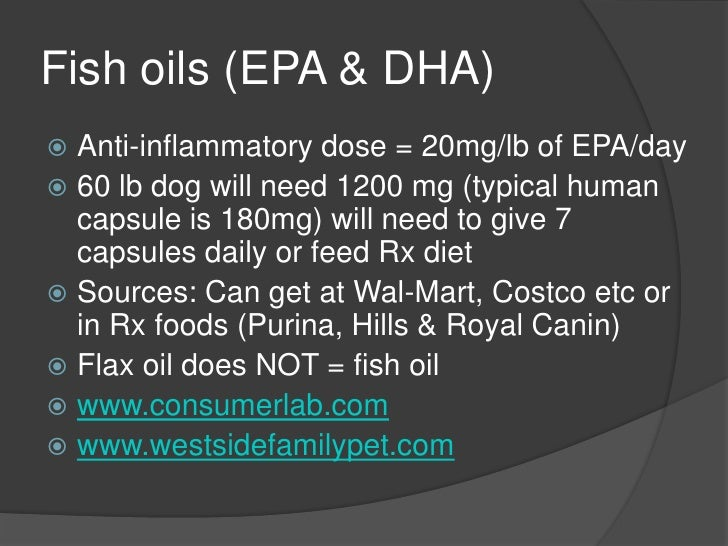 Top 10 pet food safety quality concerns in 2012 for Can you give your dog human fish oil capsules