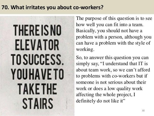 teamwork questions
