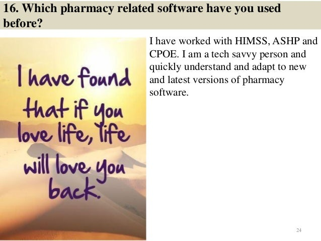 23 24 16 - Pharmacy Technicianinterview Questions And Answers