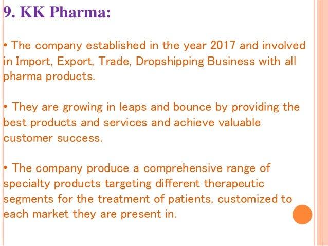 Top 10 pharma distributors in india pptt