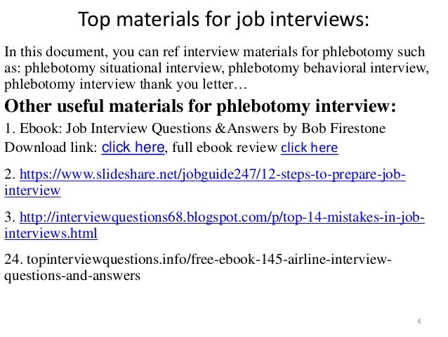 Tips To Prepare For Phlebotomy Interview 4