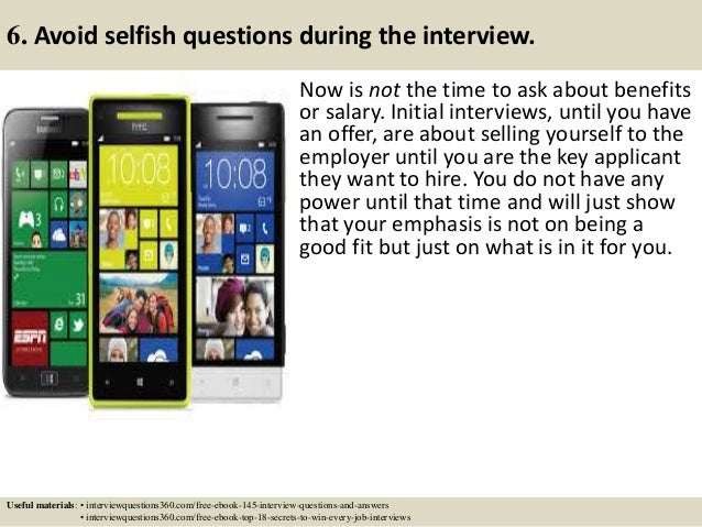 questions to ask in phone interview