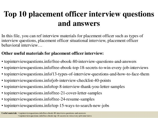 top10placementofficer interviewquestionsandanswers1638jpgcb1427124472