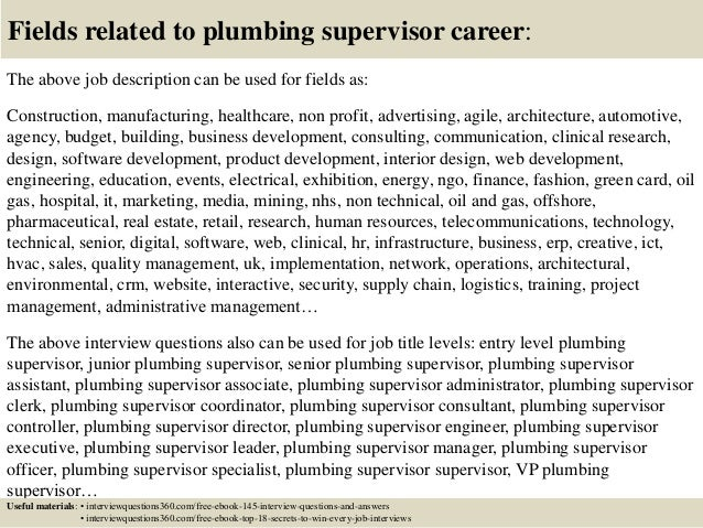 thesis suggestion help inspire labs plumbing supervisor resume