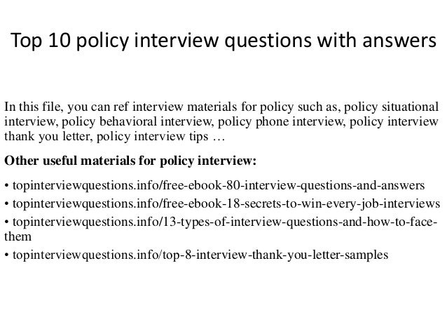 Exploring science hsw edition year 8 answers ebook 80 off gallery top 10 policy interview questions with answers 1 638gcb1504059022 top 10 policy interview questions with answers fandeluxe Choice Image