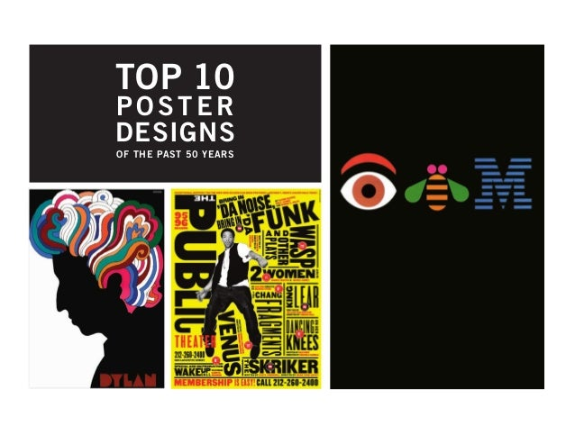 TOP 10 POSTER DESIGNS OF THE PAST 50 YEARS