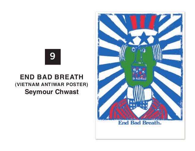9 EnD BaD BREath  (vIEtnaM antIWaR PoStER)  Seymour Chwast