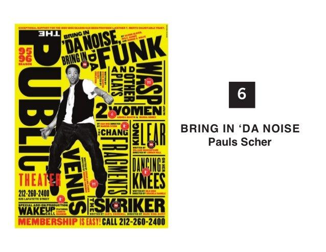 6 BRInG In 'Da noISE Pauls Scher