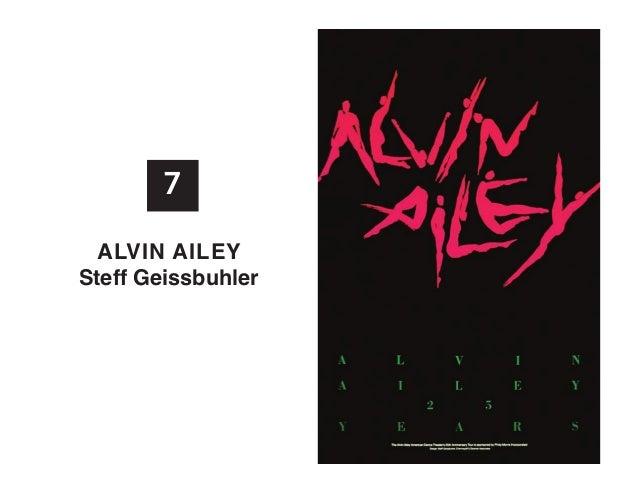 7 alvIn aIlEy Steff Geissbuhler