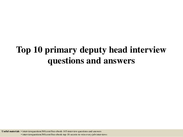 interview questions and answers for nurse manager