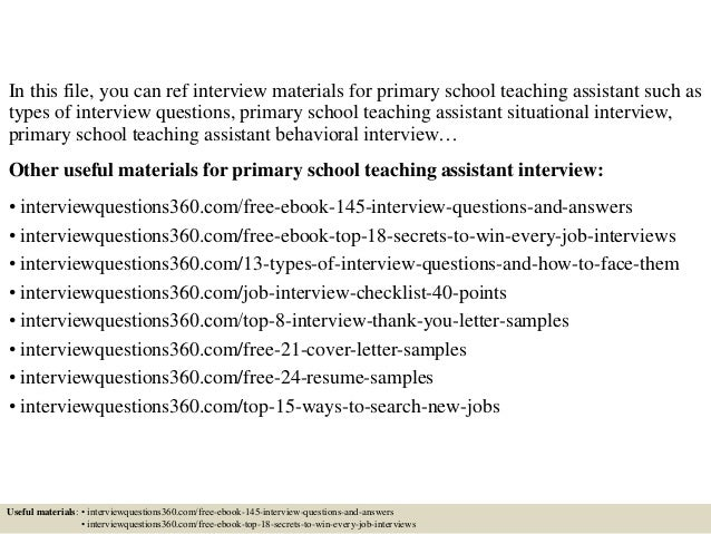 Teaching Assistant Cover Letter Uk. Cover Letter For Assistant Teacher  Position ...