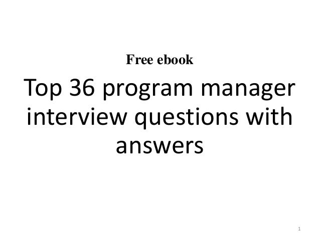 Presentation For Manager Interview Essay - image 2