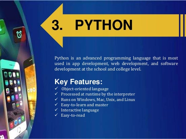 Top 10 programming languages for mobile app development