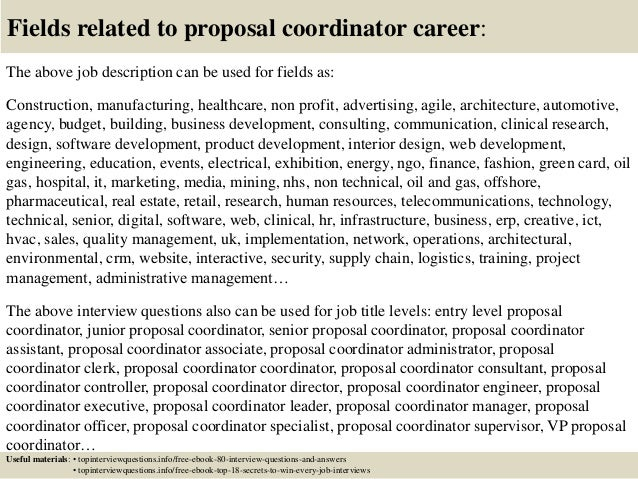 beautiful proposal coordinator resume gallery simple resume