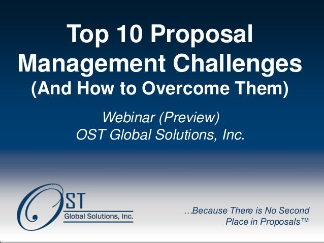 OST Global Solutions, Inc. Copyright © 2013 www.ostglobalsolutions.com ● Tel. 301-384-3350 ● service@ostglobalsolutions.co...