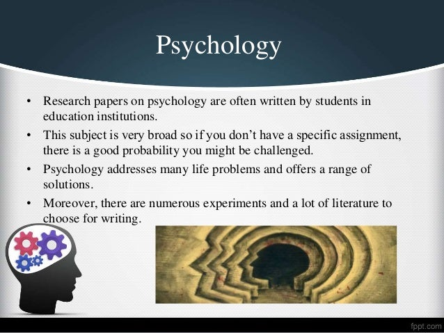 list of good research paper topics for psychology