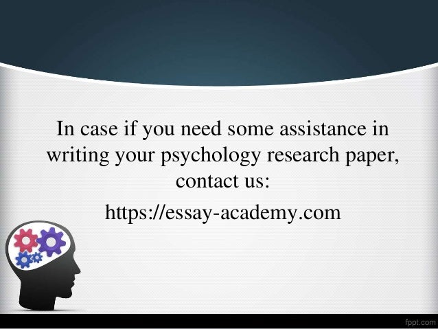 Purchase research papers for psychology topics