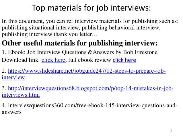 Top 36 publishing interview questions with answers pdf top materials fandeluxe Choice Image