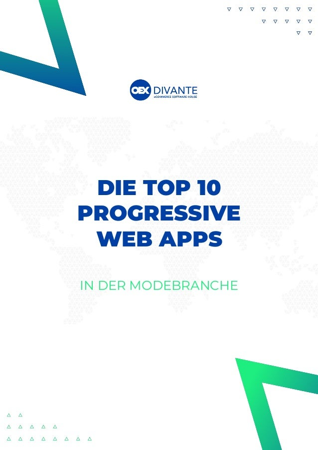 DIE TOP 10 PROGRESSIVE WEB APPS IN DER MODEBRANCHE