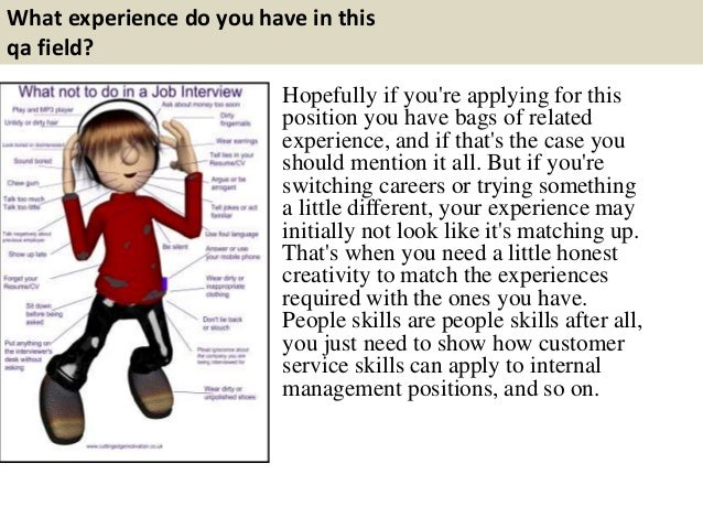 qa analyst interview questions and answers