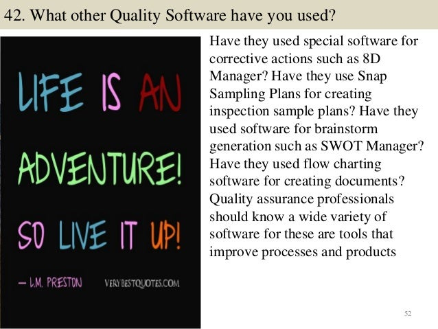 52 42 - Qa Interview Questions And Answers Quality Assurance Interview