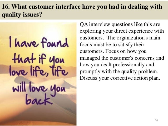 software quality assurance interview questions and answers pdf