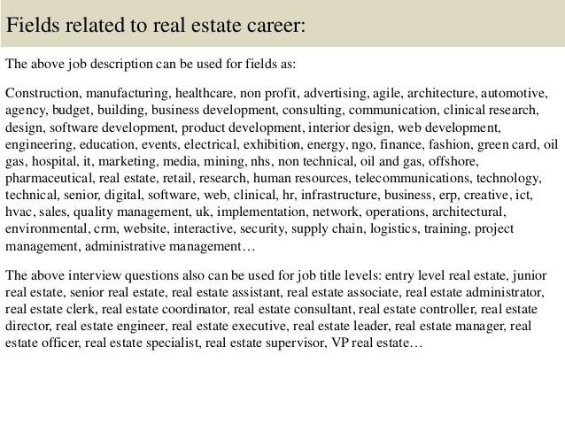 real estate descriptions examples