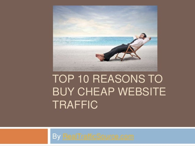 Buy traffic to my website
